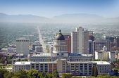 Salt Lake City Panorama — Stockfoto