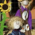 Halloween Scarecrows — Stock Photo #32368643