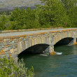 Stock Photo: Brick Stone Bridge