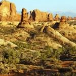 Scenic Utah Landscape — Stock Photo