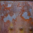 Rusty Metal Board — Stock Photo