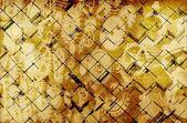 Gyllene vintage kuber — Stockfoto