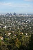 Los Angeles Panorama — Stock Photo