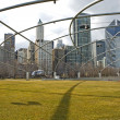 Chicago Millennium Park USA — Stock Photo #32370085
