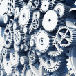 Gears and Cog Wheels — Stock Photo