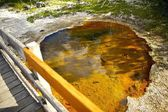 Yellowstone Toxic Grounds — Stock Photo