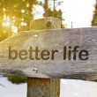Better Life Trail — Stock Photo