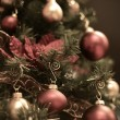 Vintage Christmas Tree — Foto Stock