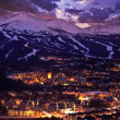 Breckenridge Winter Sunset — Foto Stock