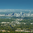 City of Denver Panorama — Stock Photo
