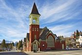 Leadville Old Church — Stock Photo