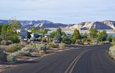 RV Park in Arizona — Stock Photo