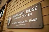 Hurricane Ridge Center — Stock Photo