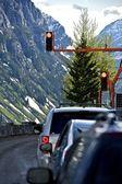 Temporary Traffic Lights — Foto de Stock