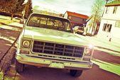 Eski kamyonet — Stok fotoğraf
