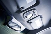 Car Ceiling Closeup — Stock Photo