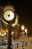 Central City Clock — Stock Photo