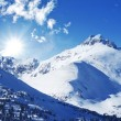 Stock Photo: Winter Mountains