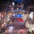 Golden Colorado Main Street — Stock Photo