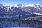 Scenic Winter Colorado — Stock Photo