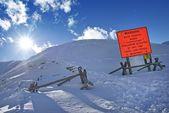 Avalanche Blasting — Stockfoto