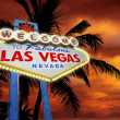 Welcome in Vegas — Stock Photo