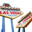 Vegas Sign Isolated — Stock Photo