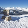 Stockfoto: Loveland Pass Summit