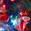 Foto de Stock  : Christmas Tree Closeup