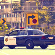 Foto Stock: CaliforniPolice Cruiser