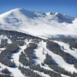 Stock Photo: Summit County Ski Slopes