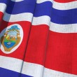 Stock Photo: CostRicNational Flag