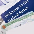 Stock Photo: Welcome to USA