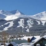 Breckenridge Ski Slopes — Stock Photo