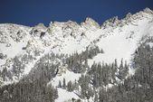 Snowy Mountain Summit — Foto Stock