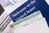 Welcome to the USA — Stock Photo