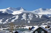 Breckenridge Ski Slopes — Foto Stock