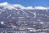 Breckenridge-winterpanorama — Stock fotografie