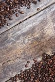 Coffee Wooden Background — Stock Photo