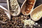 Dry Spices Closeup — Stock Photo