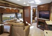 Modern RV Interior — Stock Photo