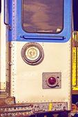 City Train Closeup — Stock Photo