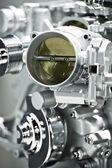 Gas Engine Elements — Stock Photo