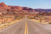 Highway to Capitol Reef — Stock Photo