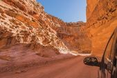 Dirty Canyon Road in Utah — Stockfoto