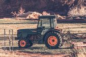 Small Tractor — Stock Photo