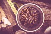 Coffee Bucket — Stock Photo
