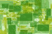 Green Internet Background — Stock Photo