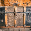 Vintage Wooden Chest — Stock Photo #48867673