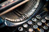 Types of Vintage Typewriter — Stock Photo